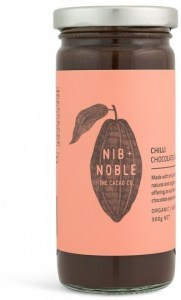 Nib & Noble Organic Chocolate Chilli Sauce 300g