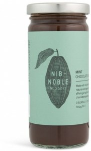 Nib & Noble Organic Chocolate Mint Sauce 300g