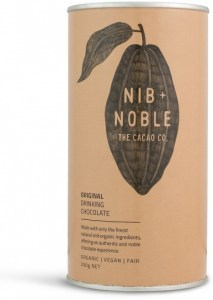 Nib & Noble Organic Drinking Chocolate Original 250g