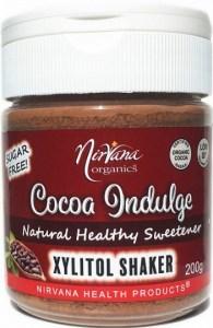 Nirvana Organics Xylitol Cocoa Shaker 200g