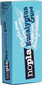 Nopla Eucalyptus Plastic Free Gum  12x15g