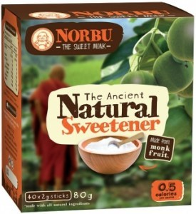Norbu Natural Sweetener 40 x 2g Sticks