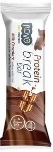 Novo Protein Break Bar Milk Chocolate  21.5g