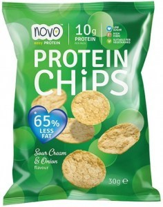 Novo Protein Chips Sour Cream & Onion 30g