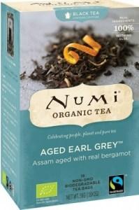 Numi Organic Tea Aged Earl Grey 18 Teabags