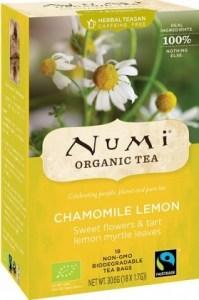 Numi Organic Tea Chamomile Lemon 18Teabags