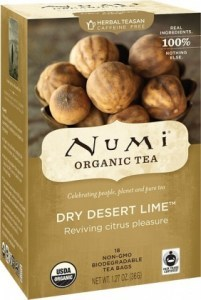 Numi Organic Tea Dry Desert Lime 18Teabags