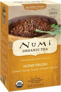 Numi Organic Tea Honeybush 18Teabags