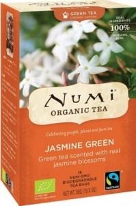 Numi Organic Tea Jasmine Green 18 Teabags