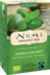 Numi Organic Tea Moroccan Mint 18Teabags