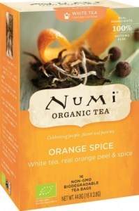 Numi Organic Tea Orange Spice 16 Teabags