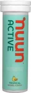 Nuun Active Hydration Tropical Fruit Effervescent Tablets 52g