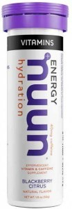 Nuun Vitamins Blackberry Citrus Effervescent Tablets 52g