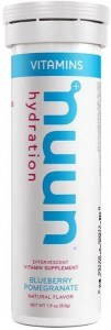 Nuun Vitamins Blueberry Pomegranate Effervescent Tablets 53g