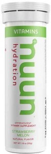 Nuun Vitamins Strawberry Melon Effervescent Tablets 50g
