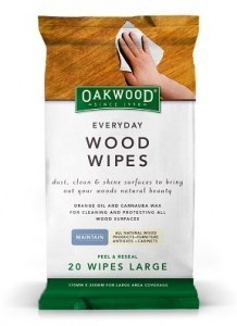 Oakwood Everyday Wood Wipes Large (170mmx300mm) 20 pack