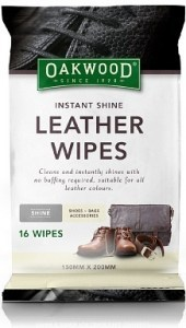 Oakwood Instant Shine Wipes 16Pk