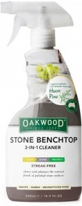 Oakwood Stone Benchtop 3 in 1 Cleaner 500ml