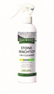 Oakwood Stone Benchtop 3 in 1 Cleaner Surface-Safe 250ml