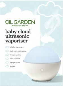 Oil Garden Baby Cloud Ultrasonic Vaporiser