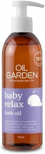 Oil Garden Baby Relax Bath Oil 125ml