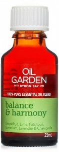 Oil Garden Balance & Harmony  Pure Essential Oil Blends 25ml