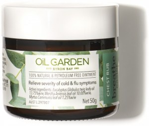 Oil Garden Breathe Chest Rub 50g