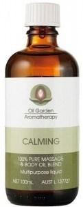 Oil Garden Calming Pure Massage Oil Blends 100ml