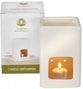 Oil Garden Candle Vaporiser Eggshell