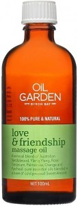 Oil Garden Love & Friendship Pure Body & Massage Oil Blend 100mL