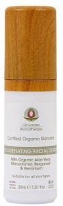 Oil Garden Organic Skincare Rejuvenating Face Serum 30ml
