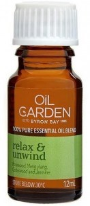 Oil Garden Relax & Unwind Pure Essential Oil Blends 12ml