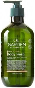 Oil Garden Shower Body Wash Cleanser Focus & Clarity 500ml