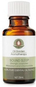 Oil Garden Sound Sleep Pure Essential Oil Blends 25ml