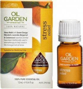 Oil Garden Stress Relief Essential Oil Blend 12ml