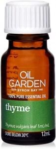 Oil Garden Thyme Pure Essential Oil 12ml