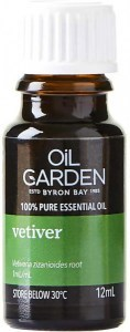 Oil Garden Vetiver Pure Essential Oil 12ml