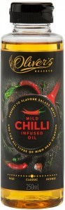 Oliver's Reserve Chili Infused Peanut Oil  250ml