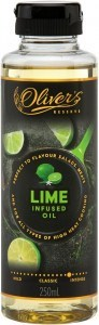 Oliver's Reserve Lime Infused Peanut Oil  250ml