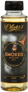 Oliver's Reserve Smoke Infused Peanut Oil  250ml