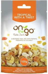 On The Go Fusion Snack Tropical with a Twist 12x50g