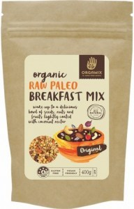 Orgamix Organic Raw Paleo Breakfast Mix Original  400g