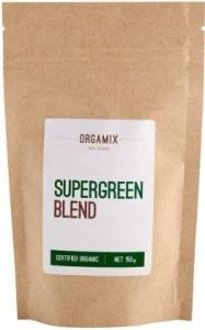 Orgamix Organic Supergreen Blend  150g