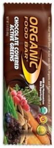 Organic Foodbars Chocolate Covered Active Greens 12x68g