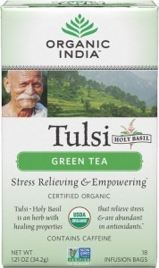 Organic India Tulsi Green Tea 18Teabags