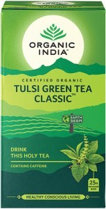 Organic India Tulsi Green Tea 25Teabags