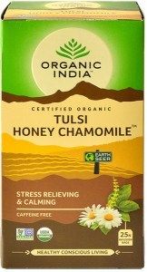Organic India Tulsi Honey Chamomile Tea 25Teabags