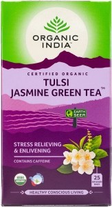 Organic India Tulsi Jasmine Green Tea 25Teabags