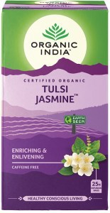 Organic India Tulsi Jasmine Tea 25 Teabags