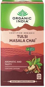 Organic India Tulsi Masala Chai Tea 25Teabags